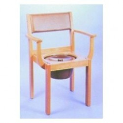 Toilettenstuhl Holz